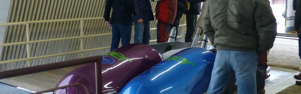 Our Bobsleigh Experience in Sigulda